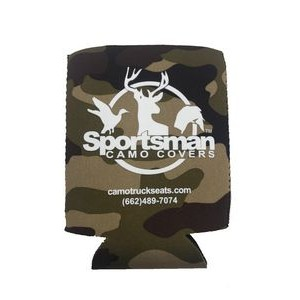 Premium Neoprene Koozie with Side Stitching, 2-side print, Full color