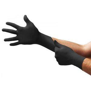 Black Nitrile Gloves in stock same day